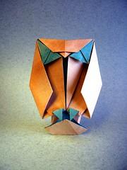 Big-eyed Owl - Raymond P. Yeh (Rui.Roda) Tags: origami papiroflexia papierfalten hibou eule mocho coruja buho bigeyed owl raymond p yeh