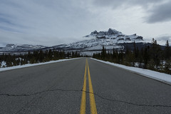 Icefield Parkway, Rocky Mountains (andre adams) Tags: mountains winter nature travel road snow ice canada rocky alberta banff national park icefield parkway landscape