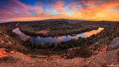Meandro de Flix (www.jorgelazaro.es) Tags: agua paisaje flix meandro naturaleza río atardecer ebro crepúsculo