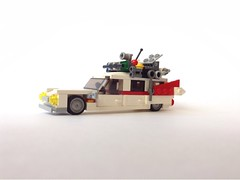 Ghostbusters Ecto-1 (dolgovdmitro) Tags: lego moc microscale ghostbusters охотники за приведениями экто