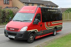 Warringtons, Ilam ET10 LCT (BJ10 FTX) Swindon Lane, Cheltenham (majorcatransport) Tags: staffordshirebuses warringtonsilam iveco ivecodaily cheltenham