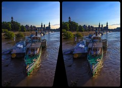 River Elbe high tide in 2013 in 3-D / Stereoscopy / CrossEye / HDR / Raw (Stereotron) Tags: saxony sachsen dresden elbflorenz hochwasser hightide steam boat europe germany crosseye crosseyed crossview xview cross eye pair freeview sidebyside sbs kreuzblick 3d 3dphoto 3dstereo 3rddimension spatial stereo stereo3d stereophoto stereophotography stereoscopic stereoscopy stereotron threedimensional stereoview stereophotomaker stereophotograph 3dpicture 3dglasses 3dimage hyperstereo twin canon eos 550d yongnuo radio transmitter remote control synchron kitlens 1855mm tonemapping hdr hdri raw 3dframe fancyframe floatingwindow spatialframe stereowindow window