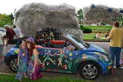 2015 Art Car Parade (schwerdf) Tags: artcarparade artcars artshanties cars costumes juxtapositions lakeharriet minneapolis minneapolisartcarparade minnesota pedalbearartshanty unitedstates