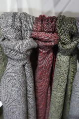 Woven wool fabrics (jozioau) Tags: variosonnart282470 weaving wool patterns traditional stansborough lowerhutt nz