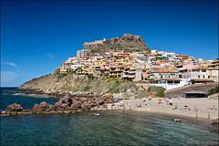 castelsardo (heavenuphere) Tags: castelsardo sassari sardegna sardinia sardinie italia italy europe island landscape beach mediterranean sea water blue 24105mm