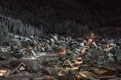 Last Winter season (ILCE-7M2 + SEL2470GM) (tadanori.inoue) Tags: landscape traditional japan night snow winter sony ilce7m2 sel2470gm shirakawagou
