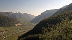The lower valley of the river Adige (north Italy) (ab.130722jvkz) Tags: italy veneto alps easternalps venetianprealps bresciaandgardaprealps rivers valleys