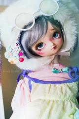 ❀° Springtime Shagreen °❀ (Koala Krash) Tags: volks f7 f07 discontinued old dollfie superdollfie sd koalakrash koala krash darkdojy custo custom faceup cute rabbit sad tears bjd doll