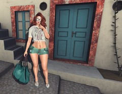 #837 (AddisonLynnRose Residnet) Tags: second life sl virtual photography fashion magika hair catwa bento glam affair maitreya zombie suicide furtacor