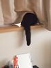 thinking I'm not seen... (matsugoro) Tags: olympus pen digital epl2 zuiko 50mm myroom animal cat kitten