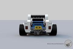 Show Stopper Rod rear - 10-wide - Lego (Sir.Manperson) Tags: lego hot rod lfa engine chassis ldd render yee