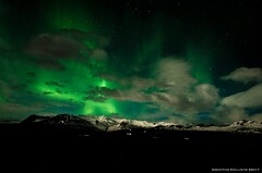 Solitude (ravennaf_25) Tags: landscape aurora borealis northern lights iceland clouds mountains night travel adventure explore glacial magical mysterious lonely colors starry long exposure nikon
