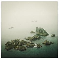 Only Time Will Tell (David Haughton) Tags: rocks peninsula cornwall cornish coast lizard thelizard kynance sea fineart seascape minimal