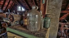 Rose's Farmhouse (55) (Darryl W. Moran Photography) Tags: urbandecay abandonedfarmhouse frozenintime leftbehind oldfarm urbex urbanexploration darrylmoranphotography oldfurniture