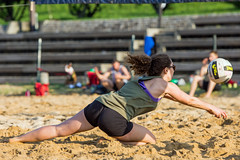 2017-04-21 BBV Coed 2s (18) (cmfgu) Tags: craigfildesfineartamericacom baltimore beach volleyball bbv md maryland innerharbor rashfield sand sports court net ball outdoor league athlete athletics sweat tan game match people play player doubles twos 2s coed
