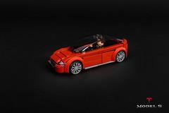 Tesla Model S (roΙΙi) Tags: tesla models car electric minifigure scale vrooom lego building5wideneverendswell