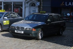 Well used taxi (occama) Tags: t85sdv bmw 1999 530d estate taxi cornwall uk high mileage german old car bangernomics
