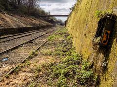 Phone (Jason_Hood) Tags: disused abandoned railway railroad southstaffordshireline southstaffordshirerailway