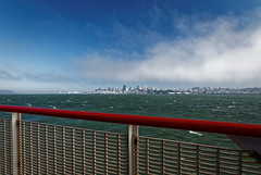 Red and blue (Guillaume DELEBARRE (Guigui-Lille)) Tags: sf usa 6d canon bay sanfrancisco cityscape panorama