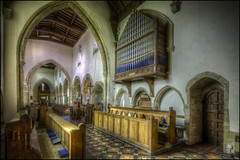 Woodford Church Organ (Darwinsgift) Tags: woodford church northamptonshire nikkor pc pce e 19mm f4 mf nikon d810 hdr organ photomatix st mary virgin greatphotographers