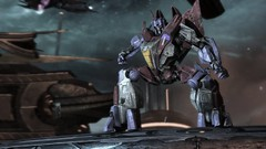 Communication Room (BarricadeCaptures) Tags: transformers war for cybertron wfc chapter vi 6 defend iacon decepticon soldier starscream decagon communication room game screenshot screencap