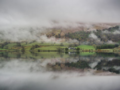 Wast Water Cloud (jerryms) Tags: wast water cloud cloudy scene scenic lake districk cumbria wasdale reflection olympus omd em 5 mark 2