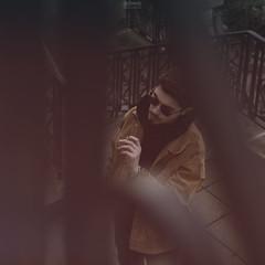 Da Saints (Schynts Photography) Tags: saints scale stair sunglasses city urban shooting blur nikon square format smoke cigarette flare