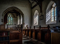St James Church Interior (Mike Hewson) Tags: stjames church cooling kent dickens interior windows pews aisle arch architecture medieval rural panasonic lumix gx8 leicasummilux15mm micro43 microfourthirds mirrorless csc village england english