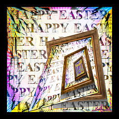 Happy Easter - 2017 (GAPHIKER) Tags: surreal art building easter happyeaster frame hss happyslidersunday color rabbit