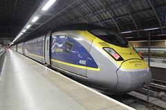 4002 (matty10120) Tags: railway rail train class eurostar old withdrawal london st pancras international 374 new belgium france england e300
