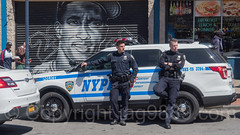 NYPD Police Officers with Patrol Car near Yankee Stadium, The Bronx, New York City (jag9889) Tags: 2017 20170423 al allamericacity americanleague architecture auto automobile ballpark baseball baseballteam bombers bronx building canvas car cop finest firstresponder graffiti house lawenforcement majorleaguebaseball mural ny nyyankees nyc nypd nyy newyankeestadium newyork newyorkcity newyorkcitypolicedepartment newyorkyankees officer outdoor painting pinstripes police policedepartment policeofficer policepatrolcar robertoclemente southbronx stadium tagging thebronx thebronxbombers theyanks transportation usa unitedstates unitedstatesofamerica vehicle yankeestadium yankeestadiumiii yankees jag9889