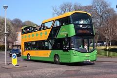 Lothian Edinburgh Tour 240 Volvo B5TL Wright (focus- transport) Tags: lothian majestic tour edinburgh city sightseeing airlink 100 volvo b5tl wright wrightbus open toppers new buses