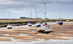 Low tide at Wells-next-the Sea, Norfolk (Baz Richardson (trying to catch up again!)) Tags: norfolk wellsnextthesea creeks saltmarshes yachts northnorfolkcoast lowtide