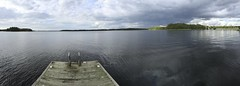 Welcome to swim in Finland (minimi007) Tags: blue clouds cloudy day finland iphone6 panorama peer sea seaside sky summer uusikaupunki water