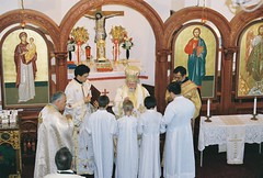 Naming of St. Spyridon Church, 2006