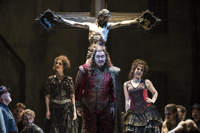 Bryn Terfel as Méphistophélès in Faust, The Royal Opera, © ROH / Bill Cooper 2014