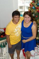 _MG_0195 (ElizT.) Tags: christmas love smile john jon couple pretty couples gina christmastree gifts lovely launion regalo hernandez jonjon ginahernandez umbal jonumbal