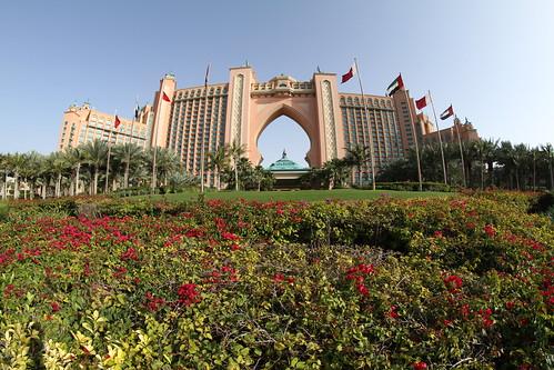 Atlantis Hotel auf der künstlich angelegten Palme