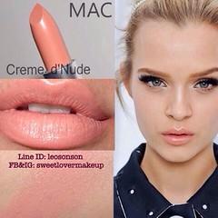 100% Authentic MAC Cosmetics Lipstickขนาดจริง พร้อมกล่อง CREAM DE NUDE  ✨MADE IN USA✨  จำหน่าย 810฿  ราคาพิเศษ 690฿ +50฿ EMS   จำหน่าย ปลีก ส่ง เครื่องสำอางค์ ทั้งเค๊าเตอร์ไทย และ อเมริกาของแท้ 100% ไม่แท้ ยินดีคืนเงิน   ติดต่อสั่งซื้อทางไลน Line ID : leo