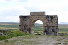Arch of Caracalla, Volubilis (fuzzball5) Tags: architecture ruins arch roman unesco morocco berber fez fes worldheritage rabat volubilis meknes moulayidriss caracalla jubaii