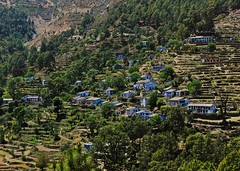 (Roshan Travel Photography) Tags: house mountain trek photography photo village hill uttranchal