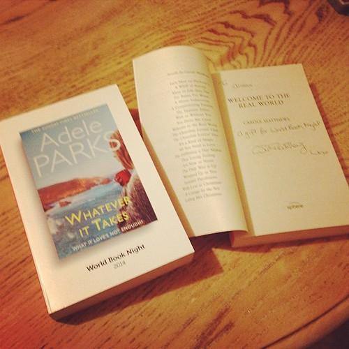 Adele Parks book fan photo