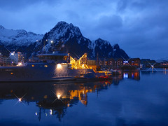 Coast Guard in Svolvaer Harbour (GillWilson) Tags: norway hurtigruten svolvaer
