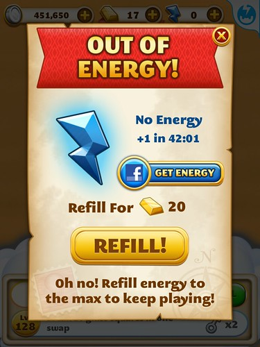 Jewel Mania Energy: screenshots, UI
