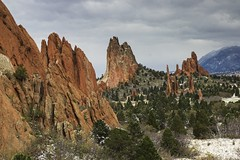 Garden of the Gods Crags on May 12th, 2014