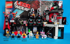 Lego Movie Lord Business Tower Lego The Lego Movie 70809 Lord