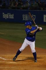 DSC06424 (shi.k) Tags: 神宮球場 横浜ベイスターズ 140516 嶺井博希 イースタンリーグ