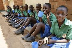 """Studenti della scuola """"In need Home"""" (Uganda)"""