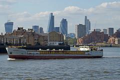 'Yasam Rose' - London (Neil Pulling) Tags: uk england london water thames river ship riverside shipping riverthames thamesshipping yasamrose