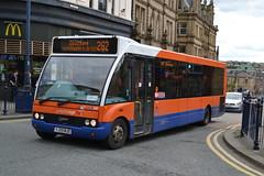 Yorkshire Tiger Optare Solo 308.YJ09MJO - Huddesfield (dwb transport photos) Tags: bus solo huddersfield arriva 308 optare yj09mjo yorkshiretiger